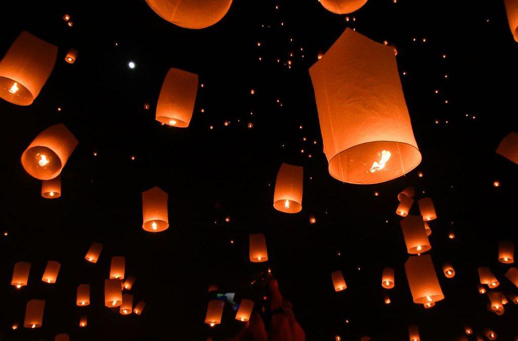 Espelmes de llum