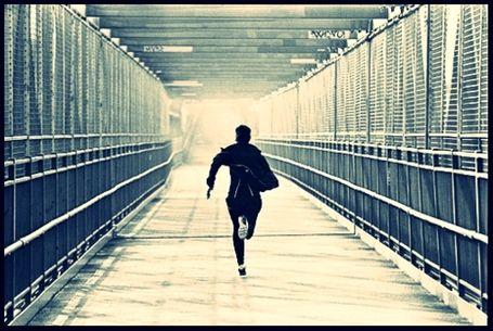 Fugir lentament