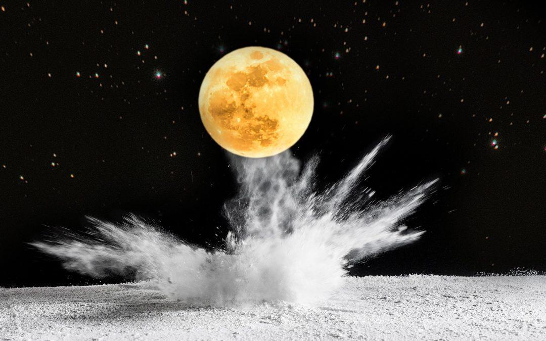 La lluna en un racó